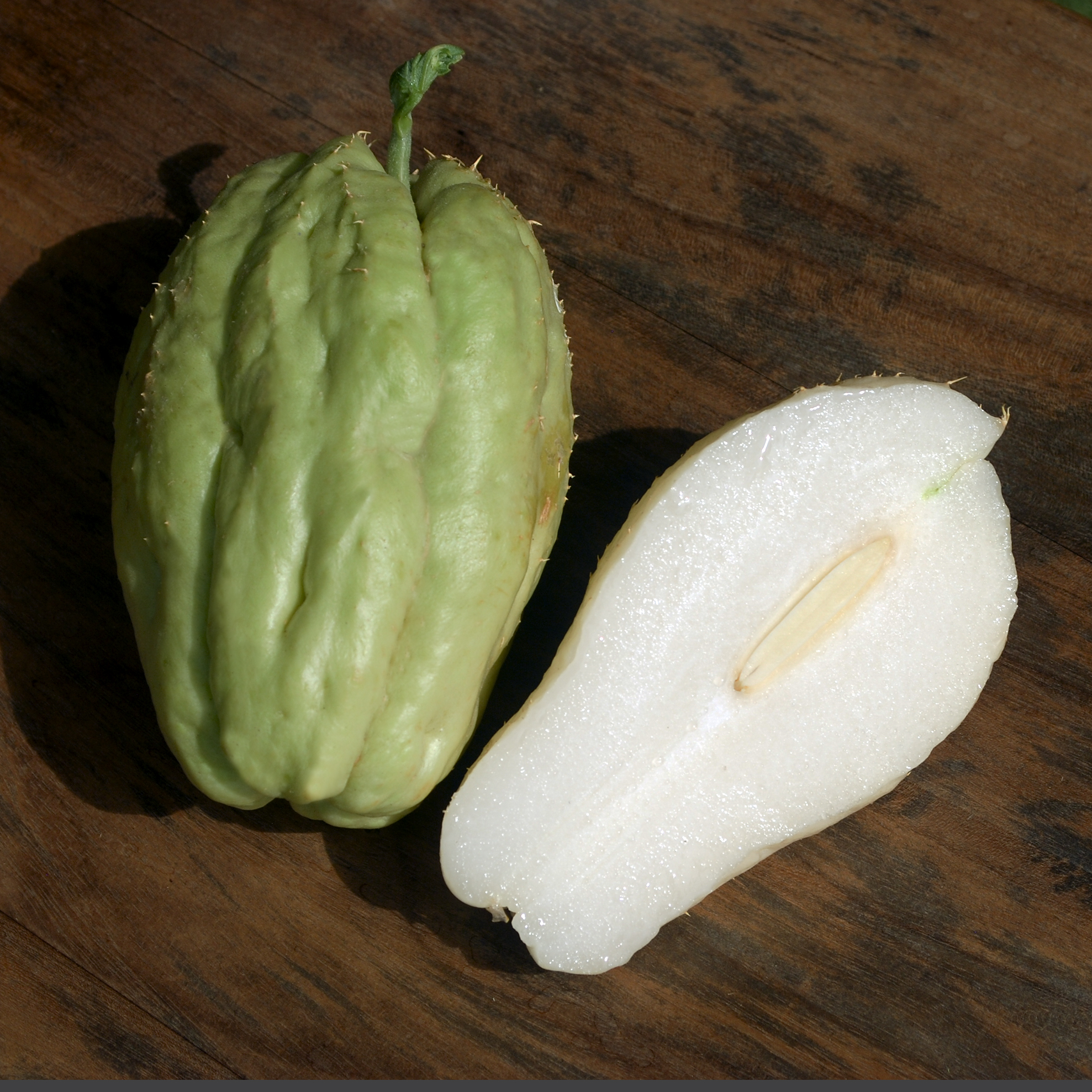 Découvrez un fruit ou une plante chaque jour: aujourd'hui, la chayotte