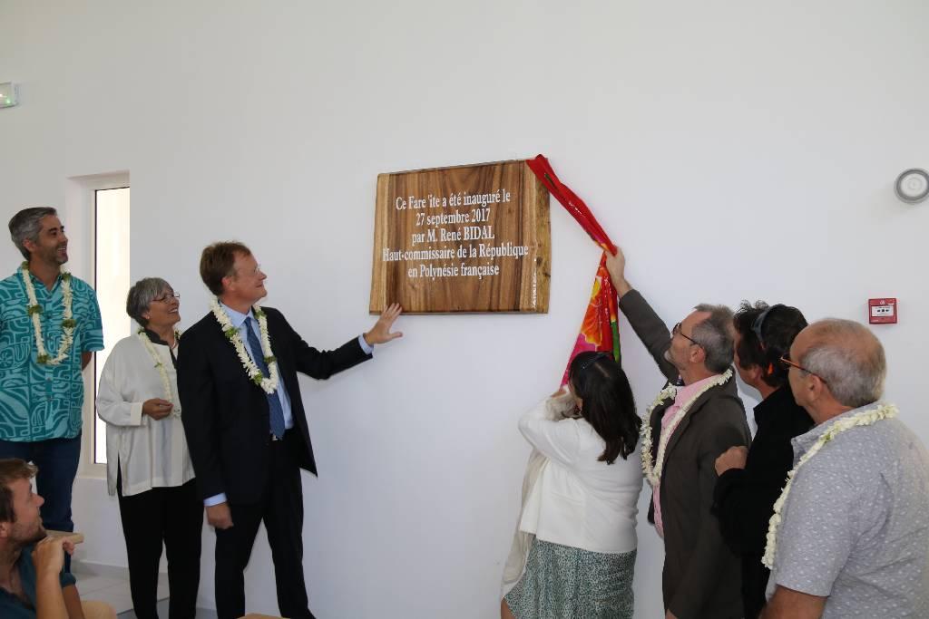 Inauguration de l'amphithéâtre du CRIOBE