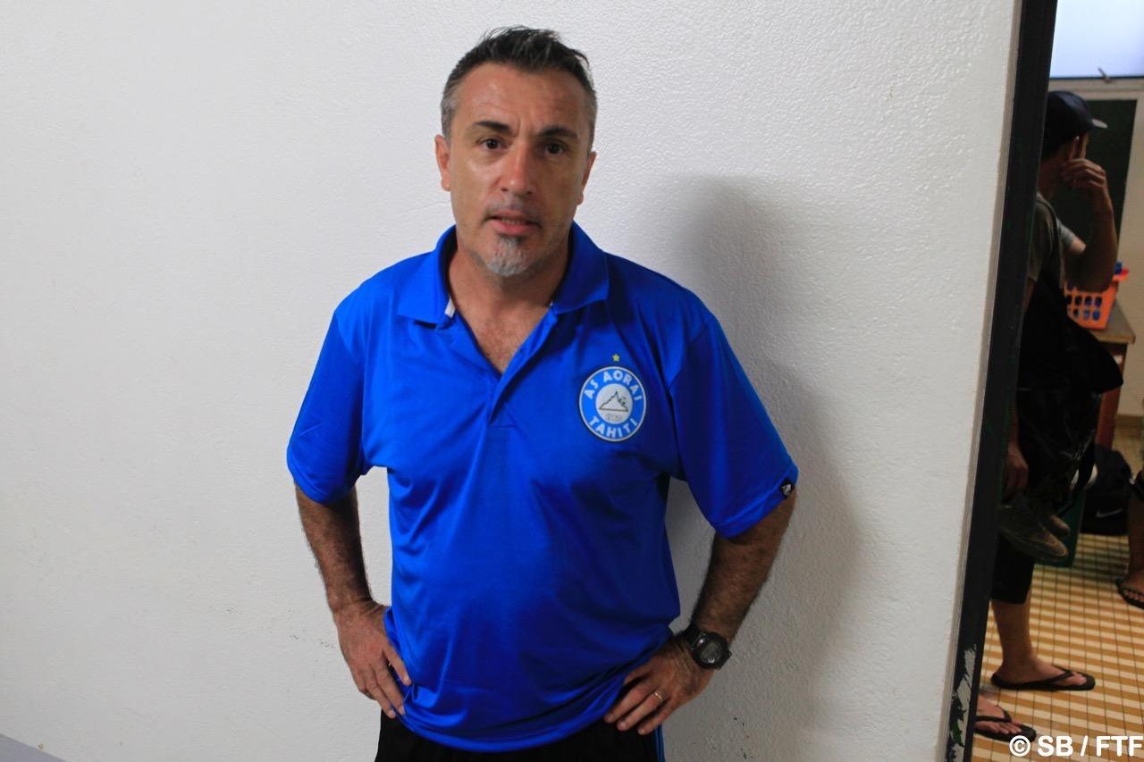 Frédéric Balch, coach d'Aorai
