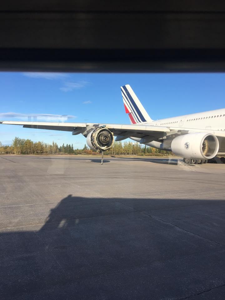 Certains passagers sont restés près de 17 heures dans l'avion sur le tarmac de l'aéroport