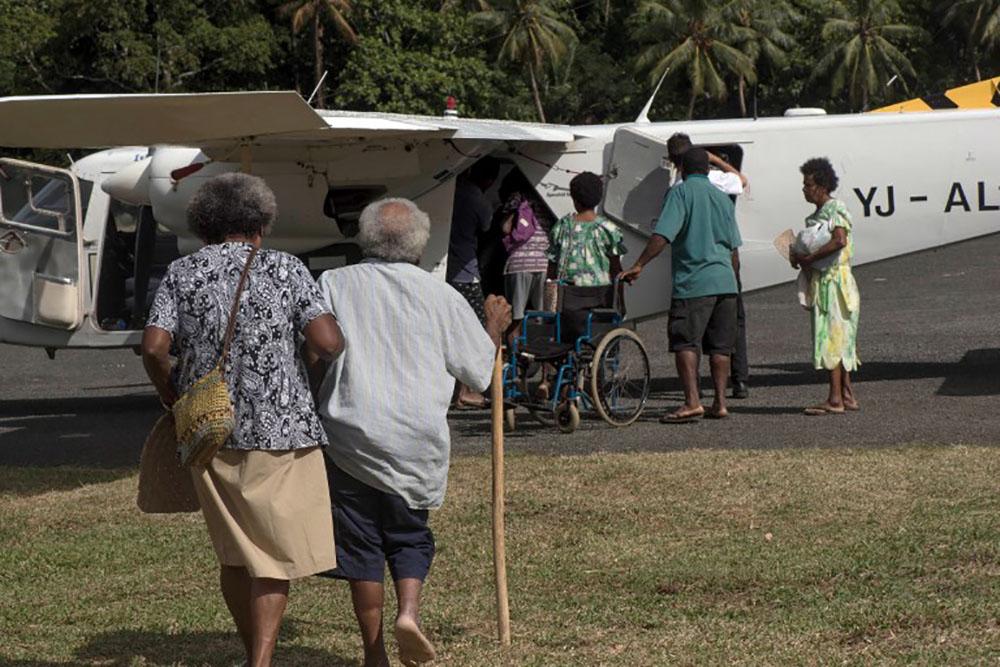 Eruption au Vanuatu: le volcan semble se stabiliser