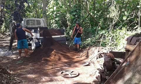 Makatea : les vestiges du passé nettoyés