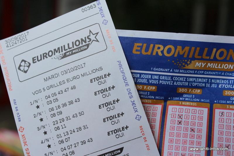 Euromillions : un jackpot à prendre