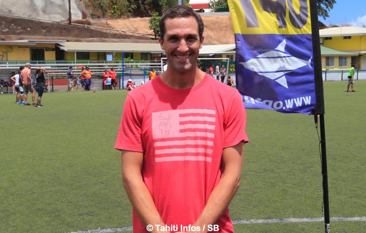 Jérémie Le Fort, coach de surf mais aussi cadre technique à la FPSAH