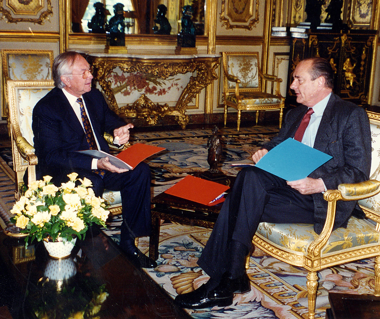 """""""Avec Jacques Chirac, nous avions de longues discussions, à propos du statut d'autonomie bien souvent"""""""