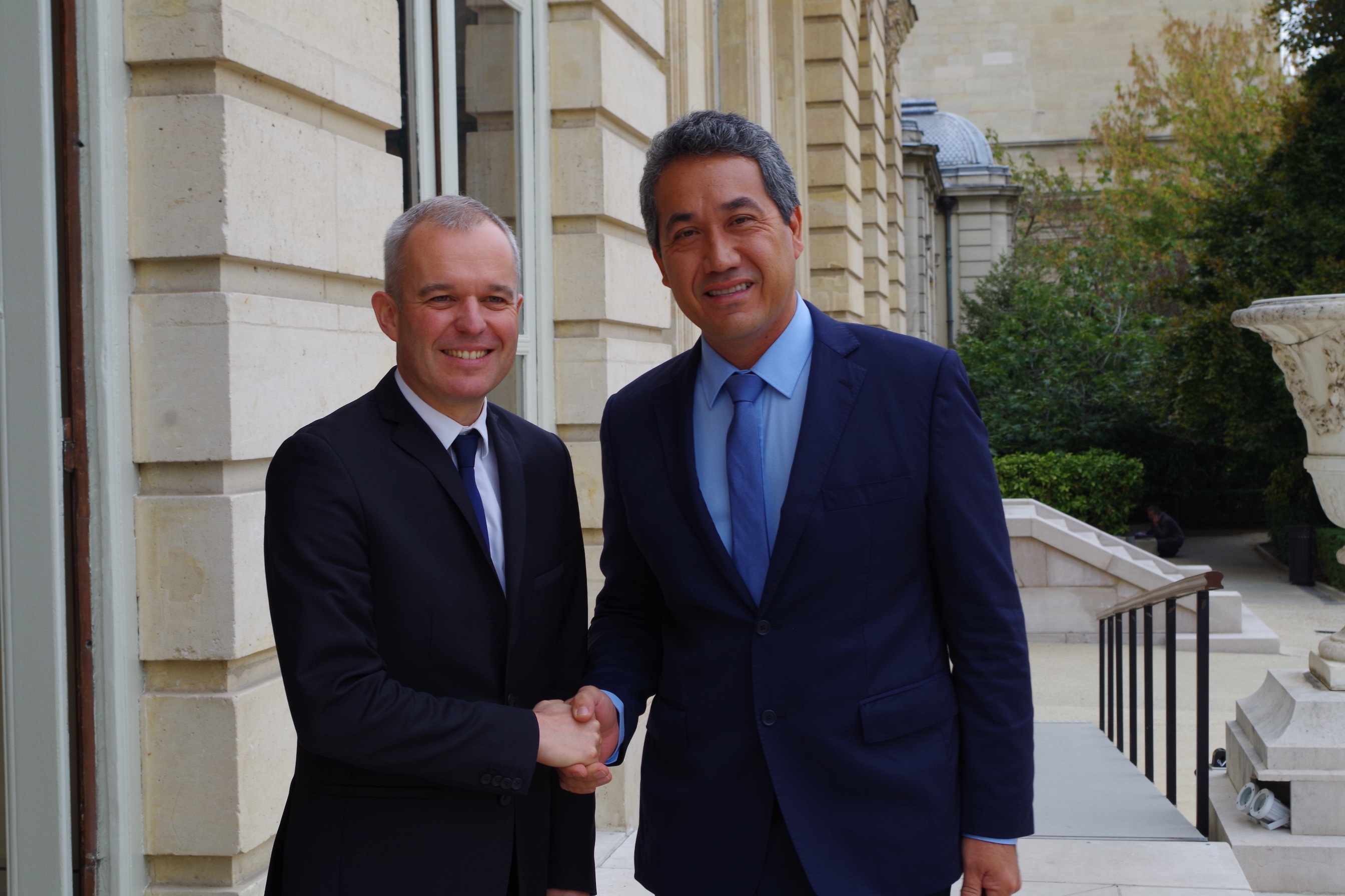 Marcel Tuihani rencontre François de Rugy