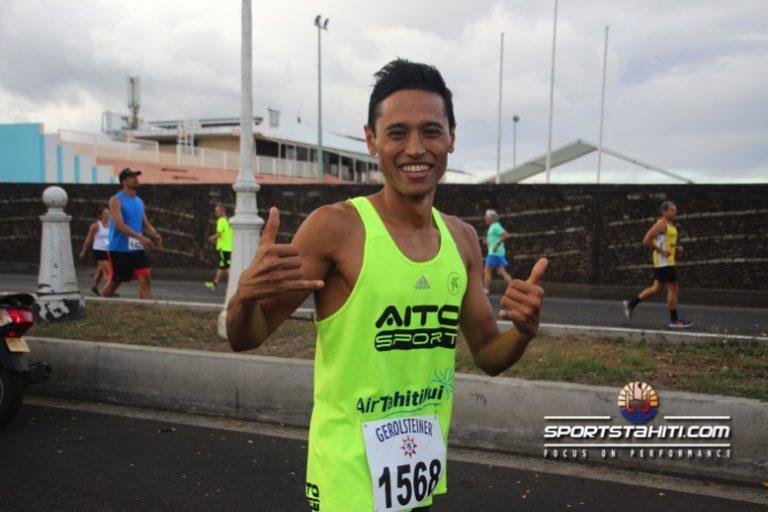 Cédric Wane prépare les championnats du monde de Xterra à Hawai'i