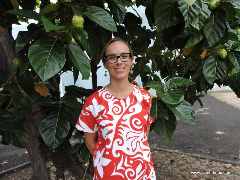 Solène Bertrand-Protat, coordinatrice de la formation, est conseillère en maladies non-transmissibles à la CPS.