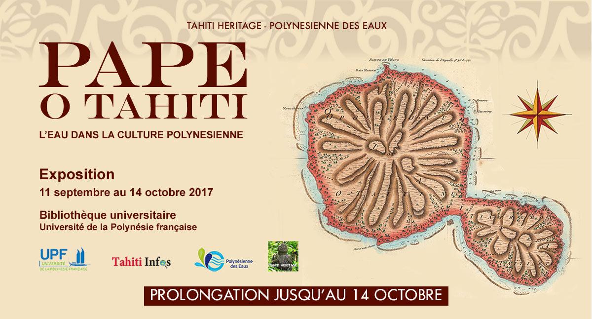 """""""L'eau dans la culture polynésienne"""" : rencontre-débat avec trois spécialistes demain matin à l'UPF"""