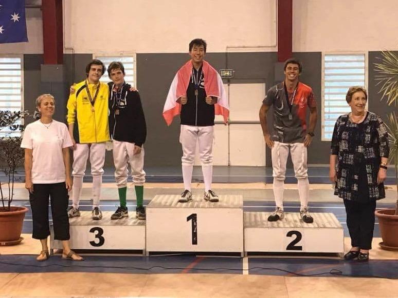 Une médaille historique pour Jérémie Shan Sei Fan