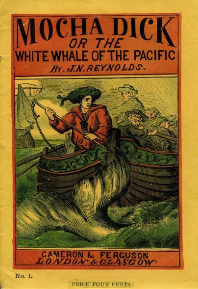 Dès 1839, l'écrivain Jeremiah N. Reynolds publia un ouvrage sur ce légendaire cétacé.  Un livre qui inspira très largement Herman Melville, auteur de Moby Dick.