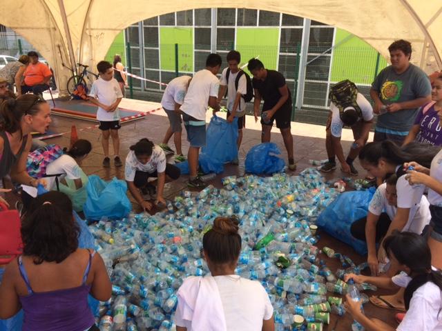 Les enfants ont été sensibilisés au tri des déchets