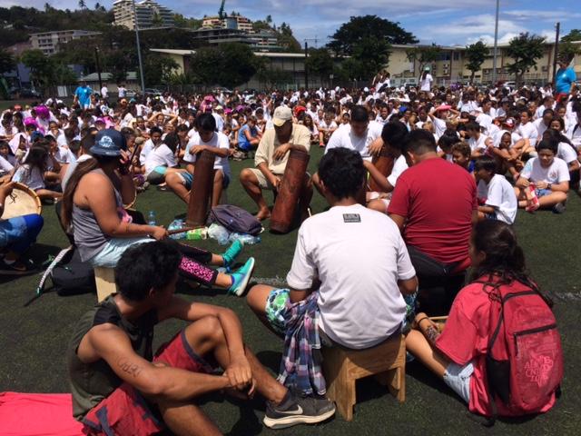 Un orchestre traditionnel a été proposé par les élèves