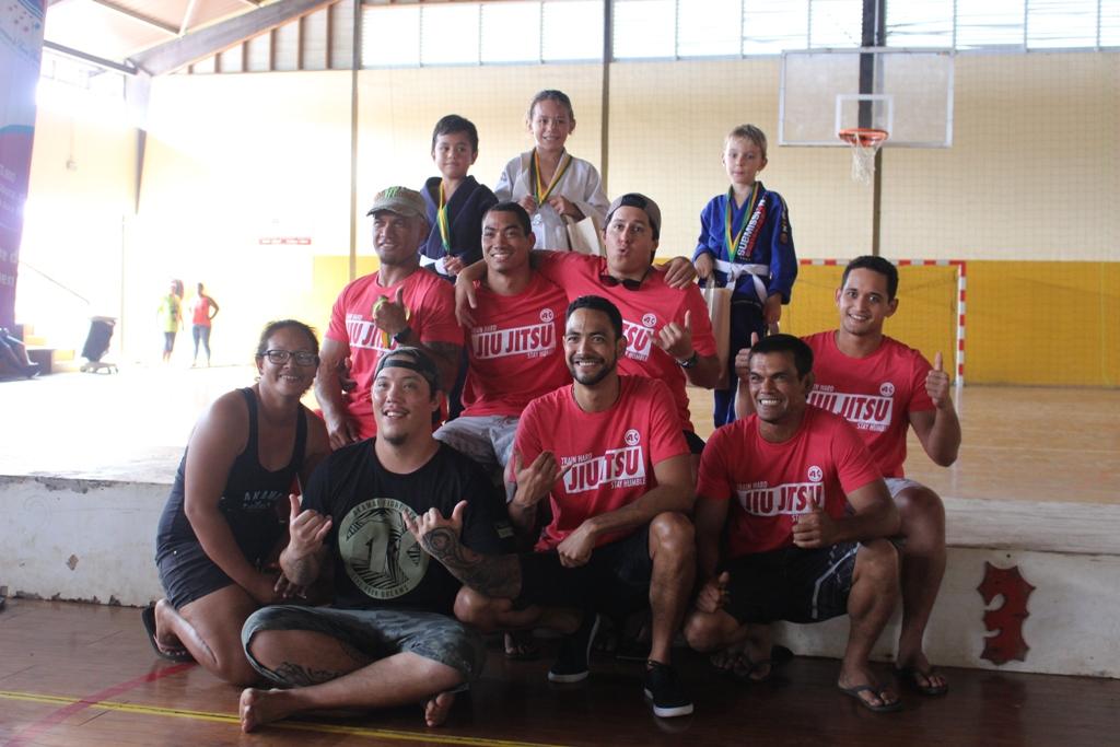 Jiu jistu, art martial apprécié des enfants de Bora Bora