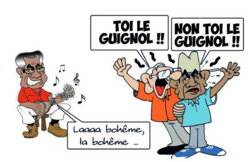 """"""" Les guignols """" par Munoz"""