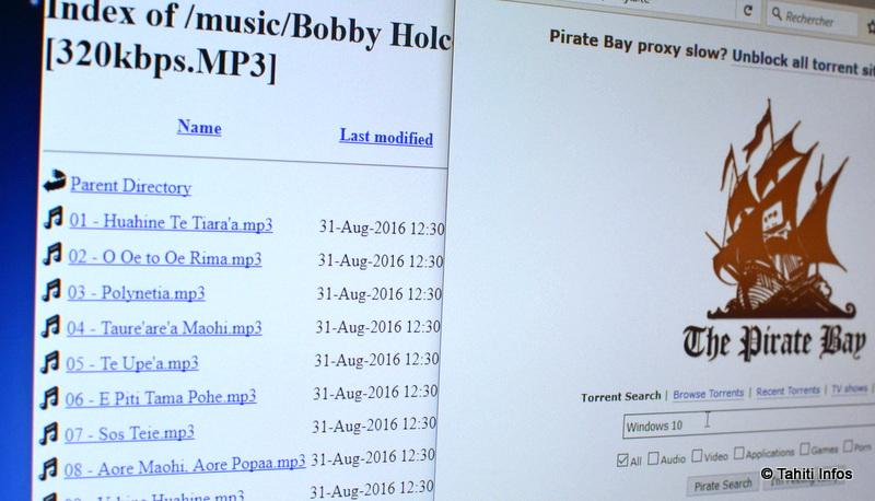 Le piratage d'oeuvres artistiques et de logiciels n'a jamais été aussi facile en Polynésie. Une situation qui va bientôt changer ?
