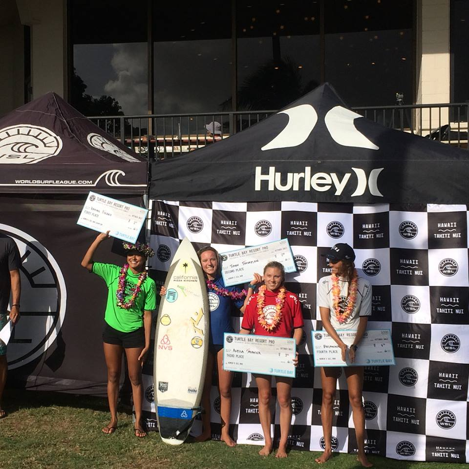 La surfeuse de Huahine n'a que 17 ans