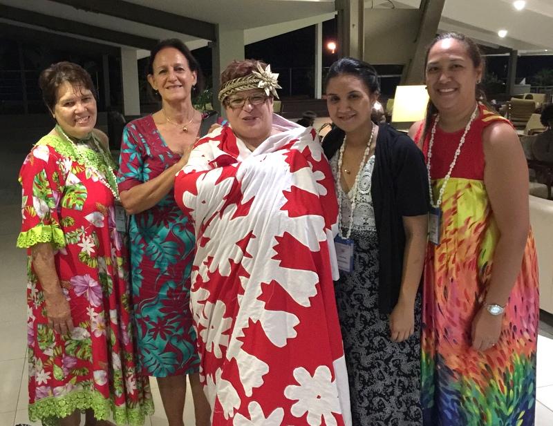 La délégation Polynésienne s'est fait de nombreux ami et a invité les participants à organiser la 14ème conférence à Tahiti dans trois ans