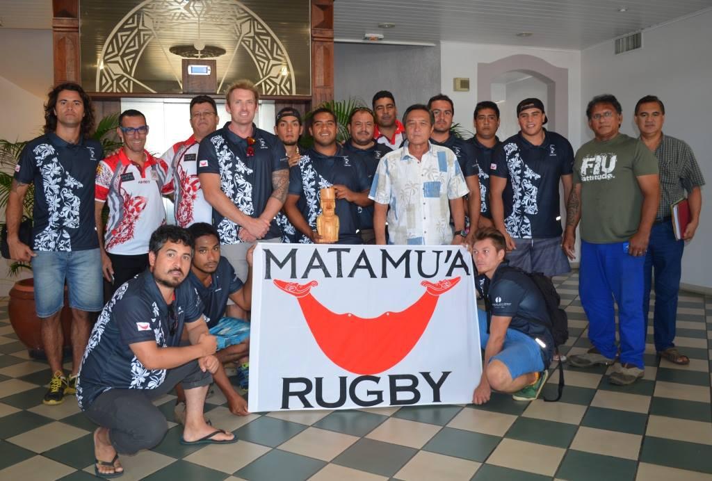 Une belle histoire d'amitié entre le Papeete RC et le club pascuan Matamu'a