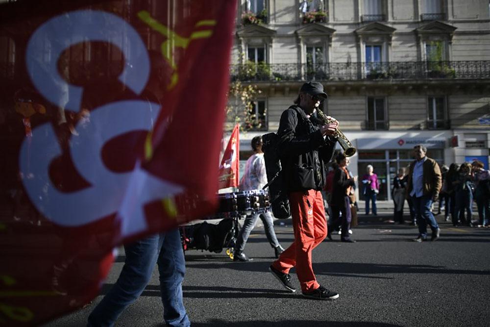 Essoufflement pour la troisième journée contre la réforme du Code du travail