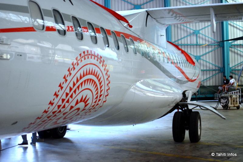 Le nouvel ATR72- 600 de Air Tahiti attendu lundi à Tahiti-Faa'a