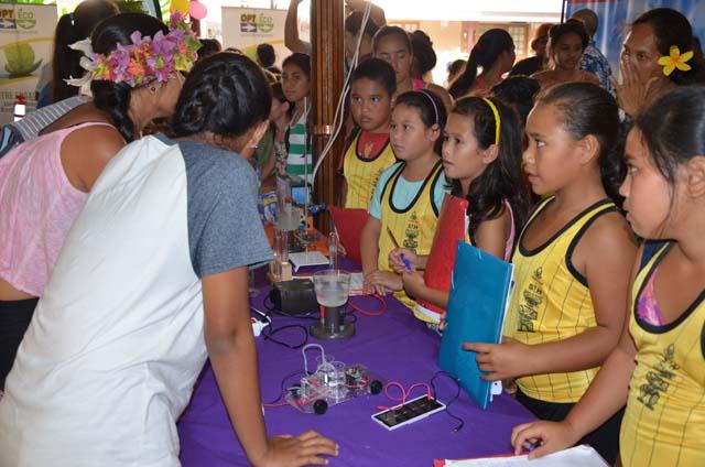La fête de la science a lieu aussi dans les îles