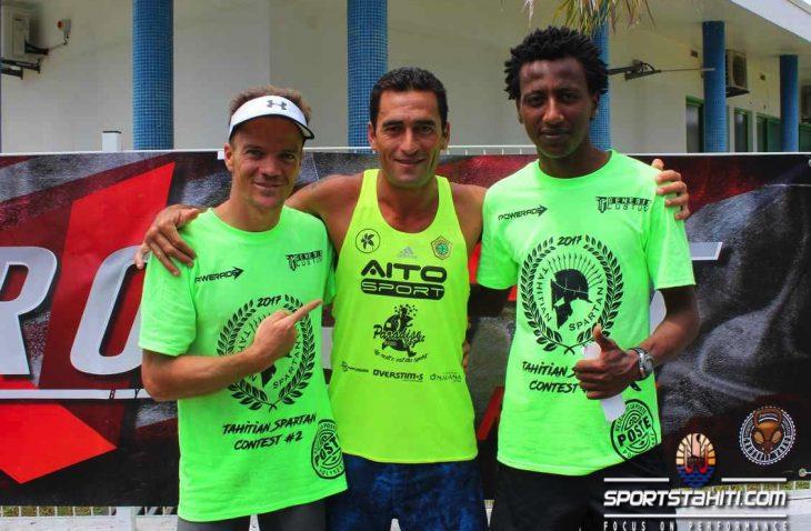 Le trio gagnant était composé d'athlètes confirmés