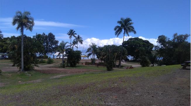 Le parc Vairai ...en attendant le Tahitian Village