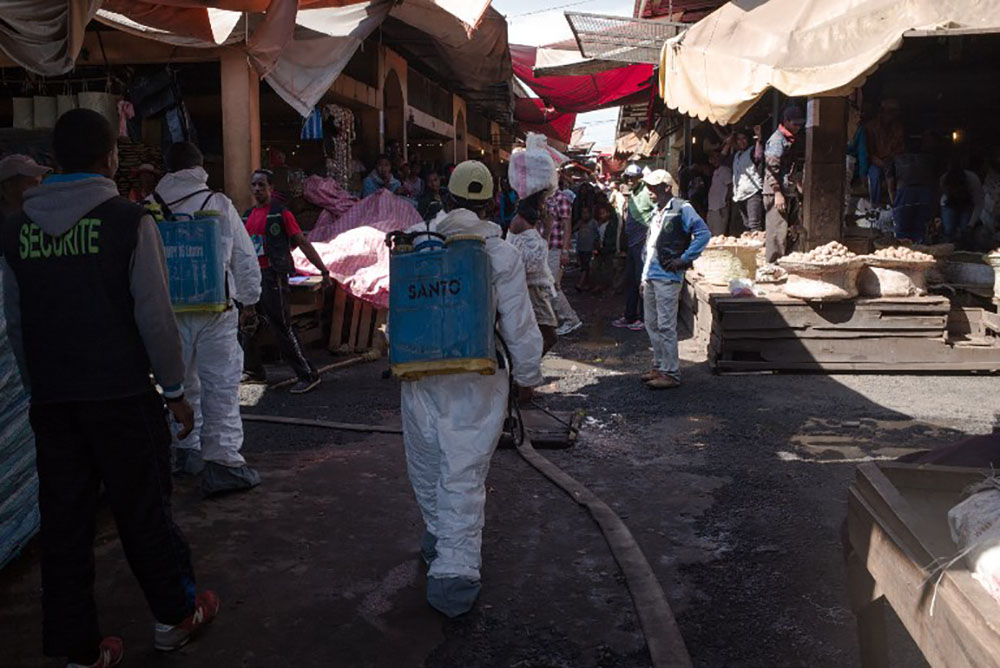 Madagascar: 124 morts de la peste mais l'épidémie ralentit