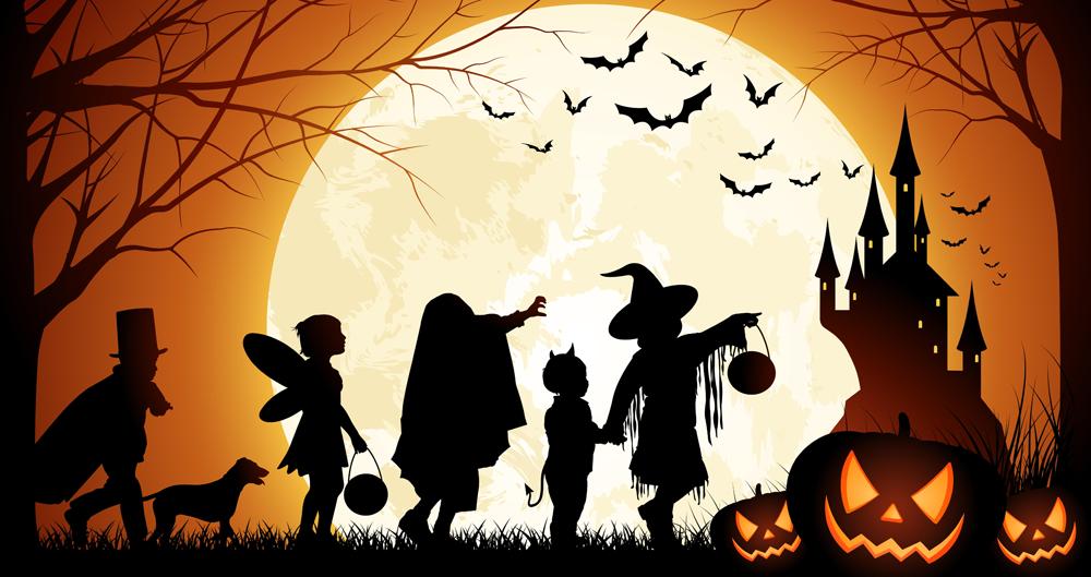 Page enfant : Horreur c'est bientôt halloween !