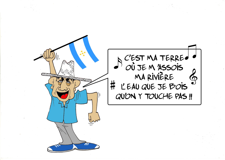 """"""" L'exp'eau de Christophe Mae """" par Munoz"""