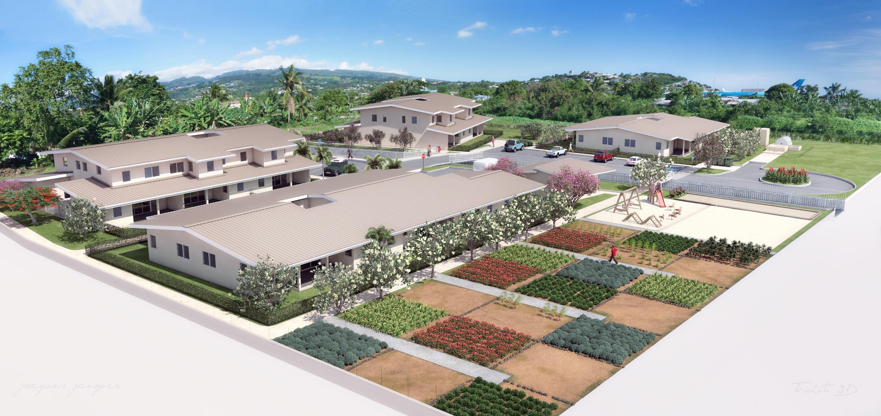 La résidence Nu'umeha, coup d'envoi du relogement à Hotuarea