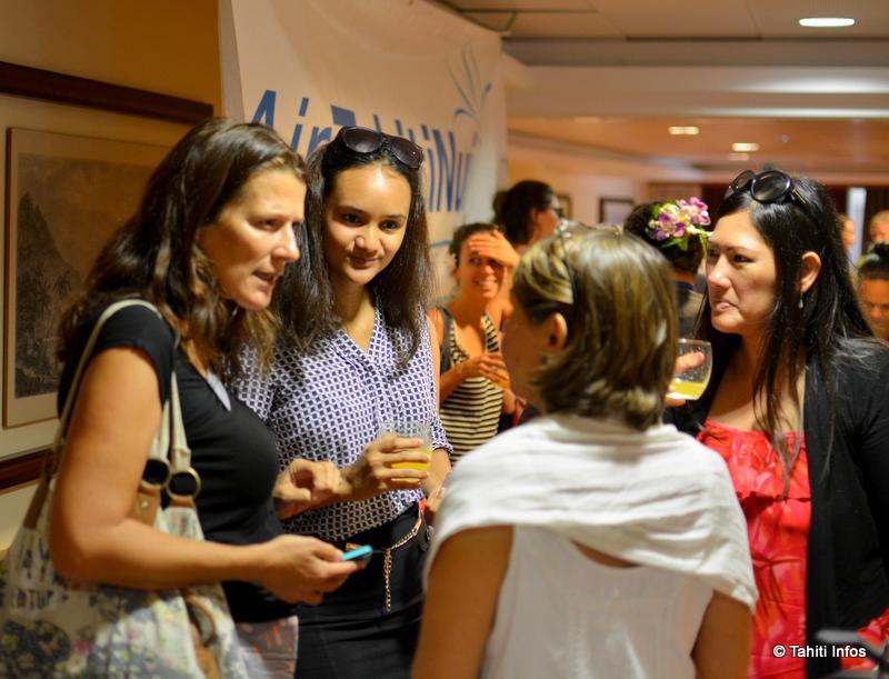 """Entre les conférences, ateliers et séances de coaching, les participantes ont largement eu l'occasion de """"réseauter"""" et de discuter de leurs projets. Une énergie innovante, au féminin !"""