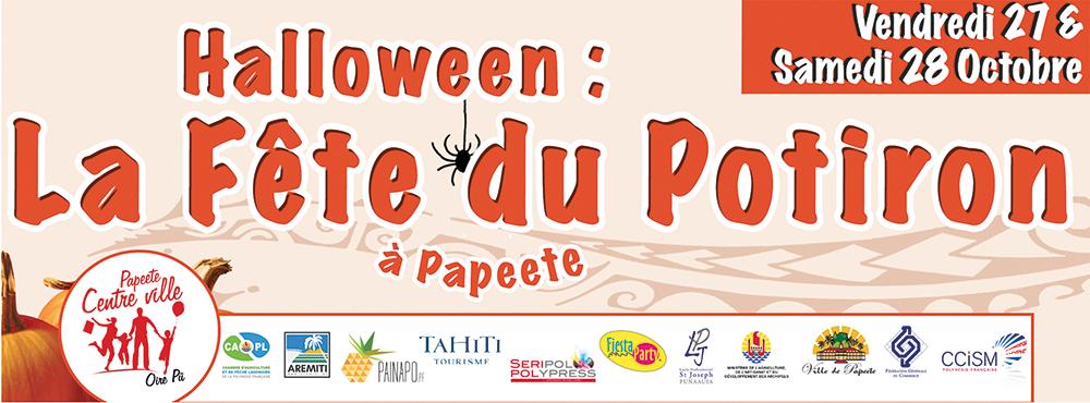 Du 27 au 28 octobre, à l'occasion d'Halloween, deux jours de fête seront organisés dans le centre-ville de Papeete.