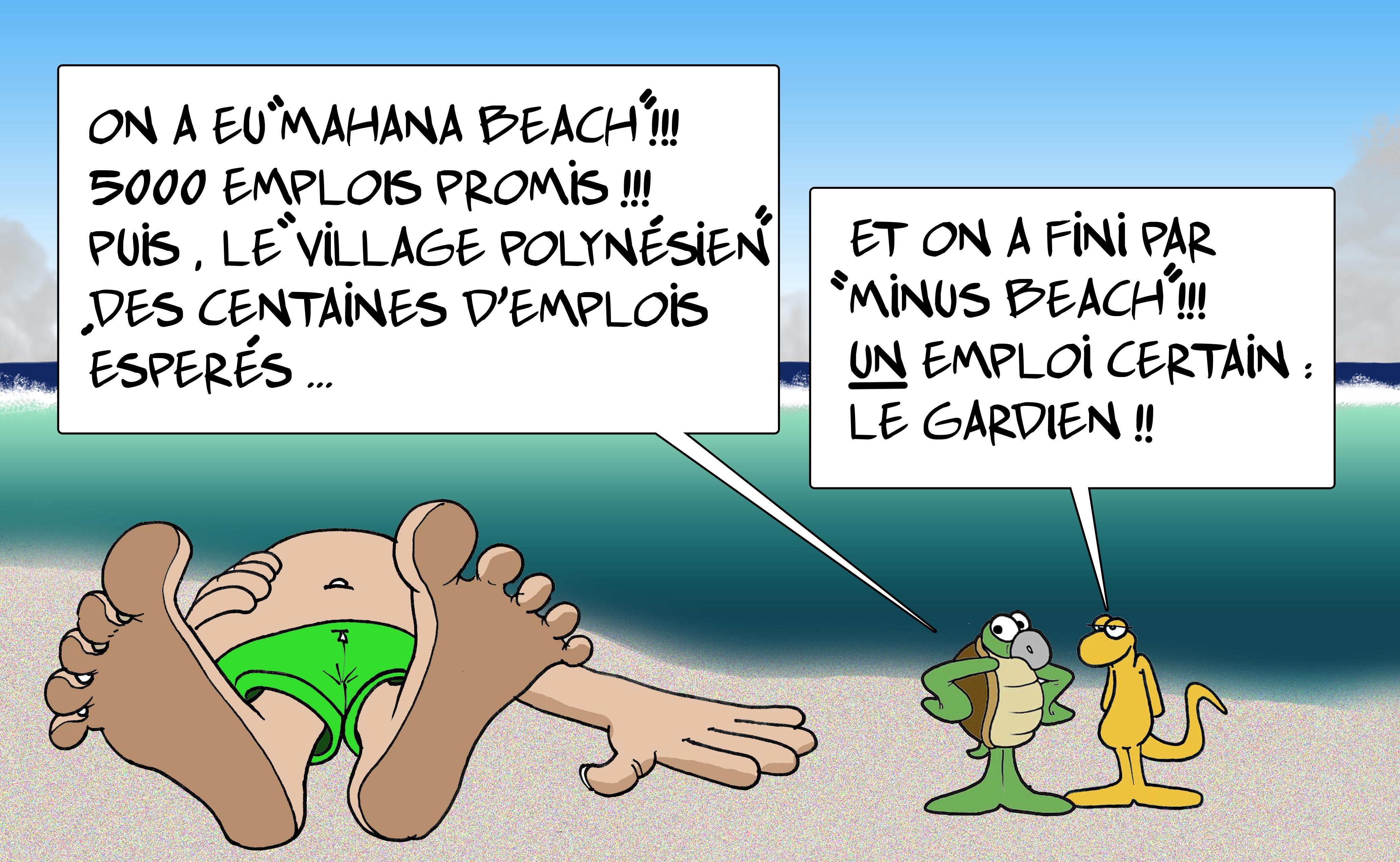 """"""" Minus Beach """" par Munoz"""