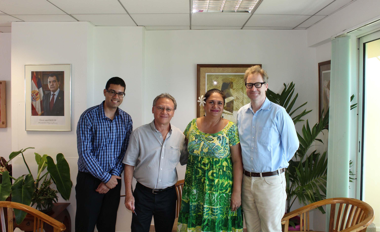 Le Pays parle de croisière et d'aérien avec le consul d'Australie
