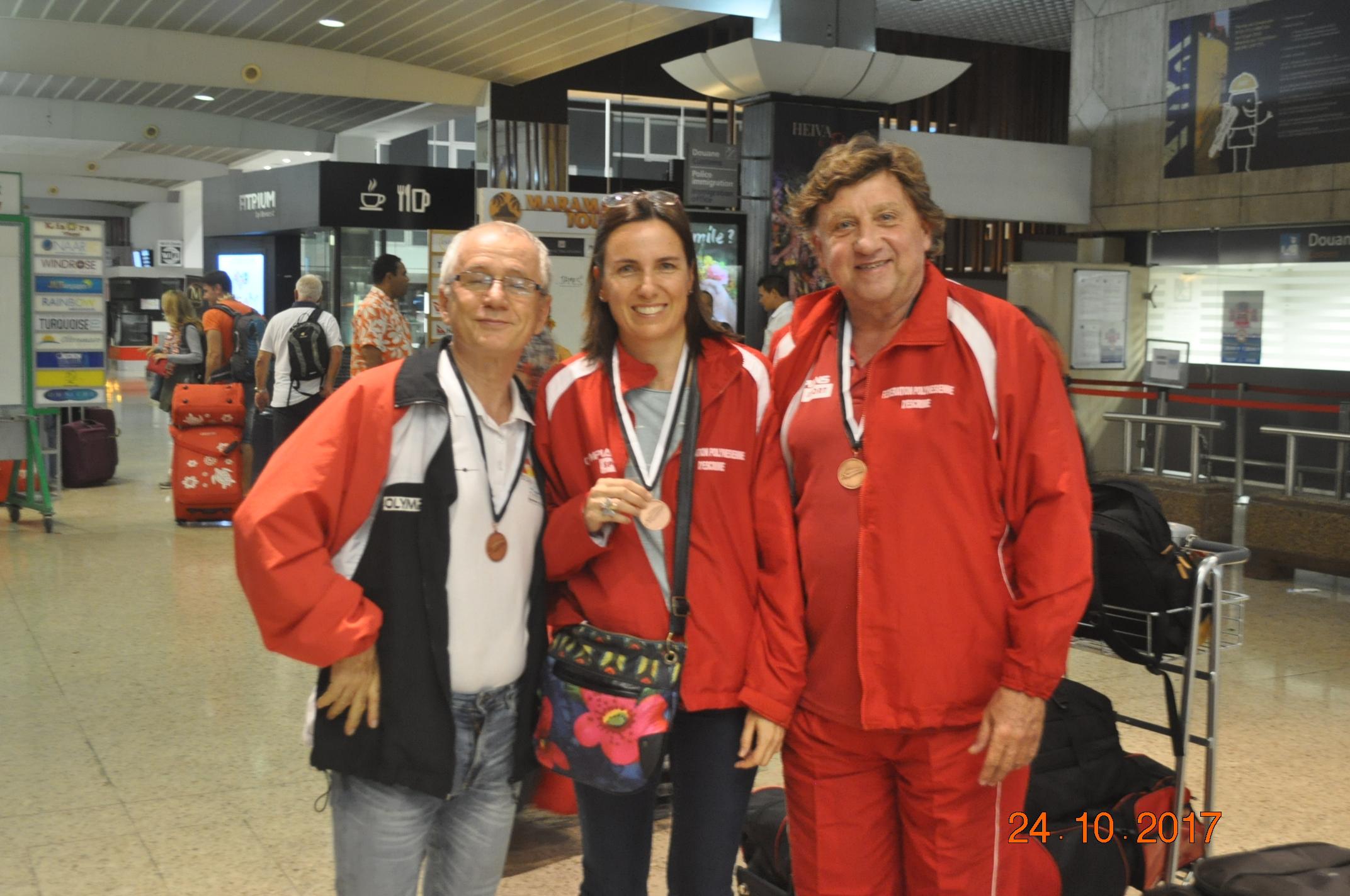 Jean Cunéo, Gwenola Kerihuel et Bruno Sanchez