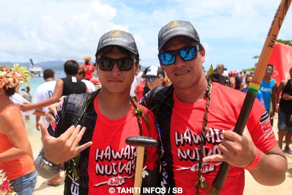 Hotuiterai Poroi et Kyle Taraufau ont mené Air Tahiti vers la victoire