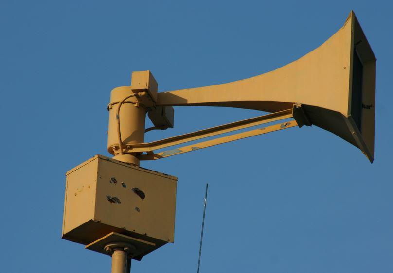 Les sirènes d'alerte retentiront exceptionnellement mercredi aux Raromatai