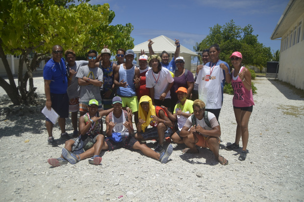 Makemo :  Deux cents élèves ont couru pour le cross du collège