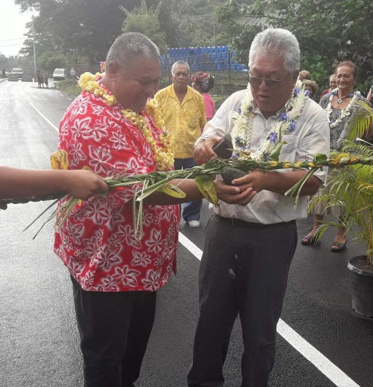 Papara, Le pont Haumanava enfin ouvert