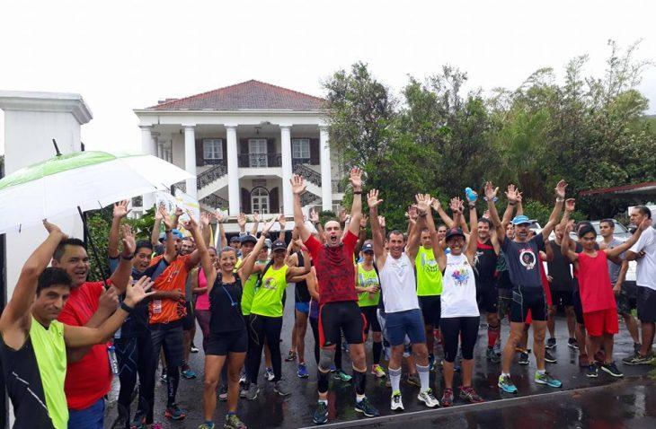 La Grimpette du Belvedere, une course pour venir en aidé à l'association SOS Suicide