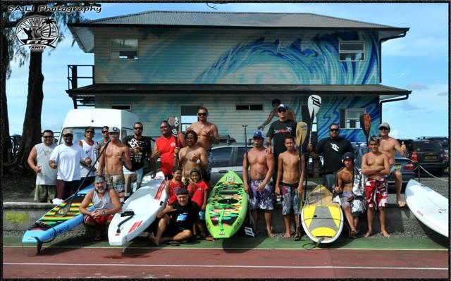 Stand up Paddle - Championnat de Tahiti : Nainoaiki David en super forme