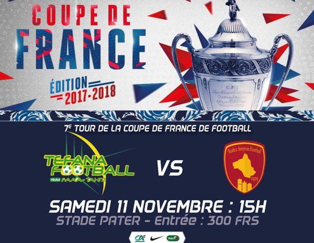 Foot - Coupe de France : Tefana à l'épreuve du Rodez Aveyron Football