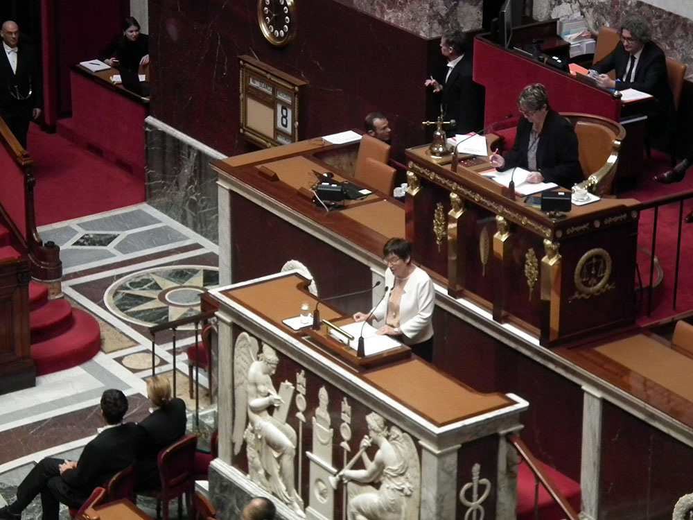 La ministre de l'Outre-mer, Annick Girardin, présentait ce matin le budget dédié à l'Outre-mer.