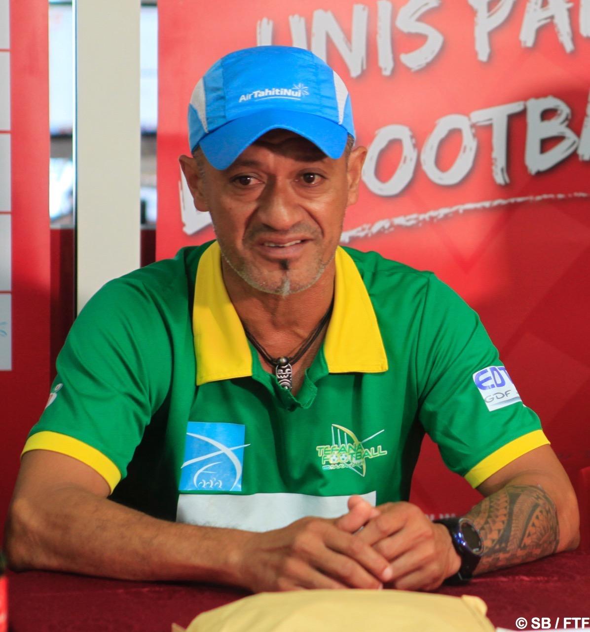 Pascal Vahirua, conseiller technique à Tefana