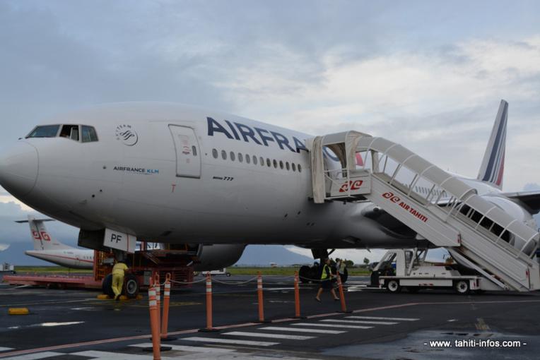 Greve chez Air France :  un premier vol annulé