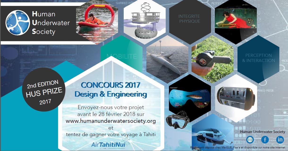La HUS lance un nouveau concours de design et d'ingénierie sous-marine