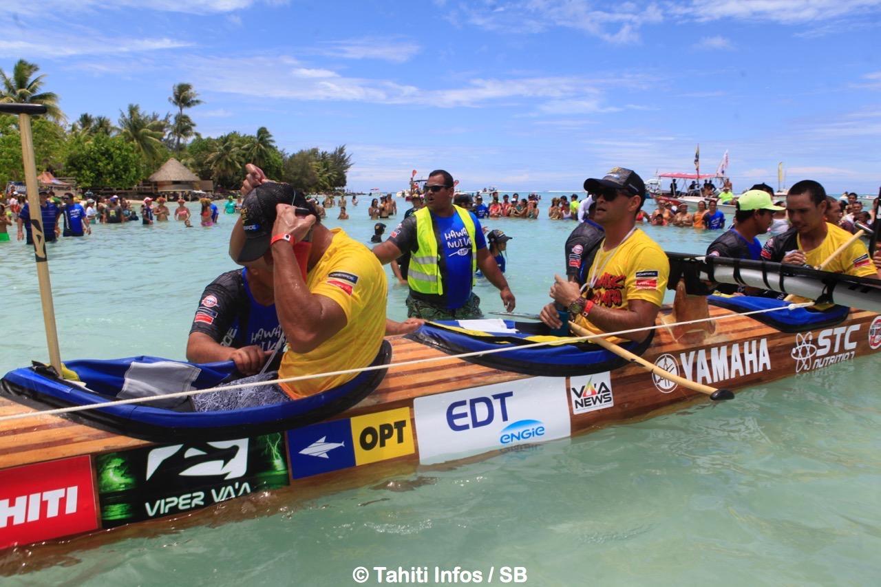 Une 4e victoire avec Edt Va'a à Hawaiki Nui 2017 © Tahiti Infos / SB