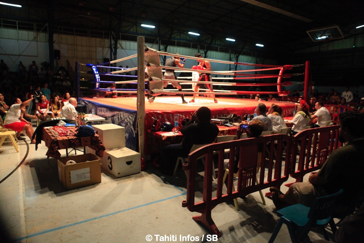 De 300 à 400 personnes ont assisté à ces championnats de Polynésie